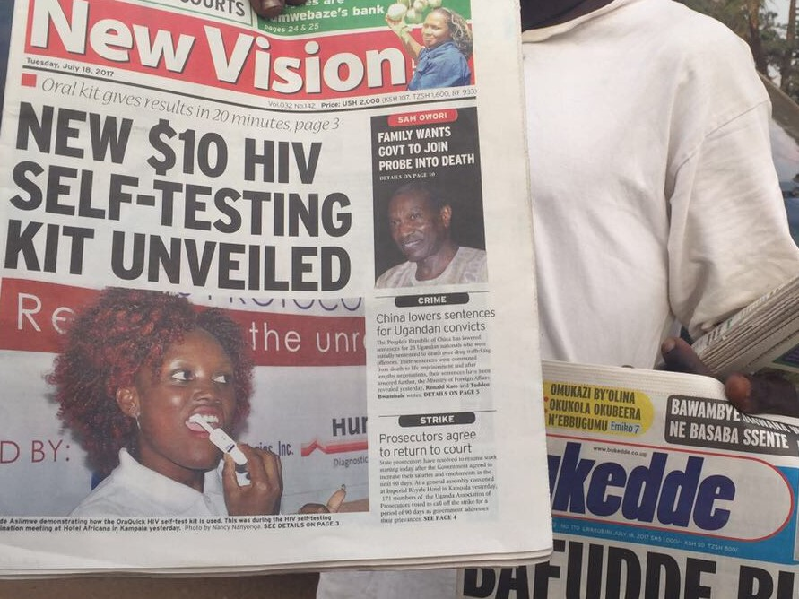 HIV self-test