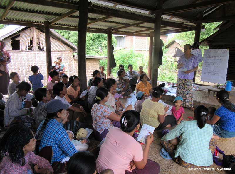 formative evaluation of a collaborative community checklist intervention in Myanmar