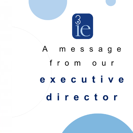 Message from our executive director